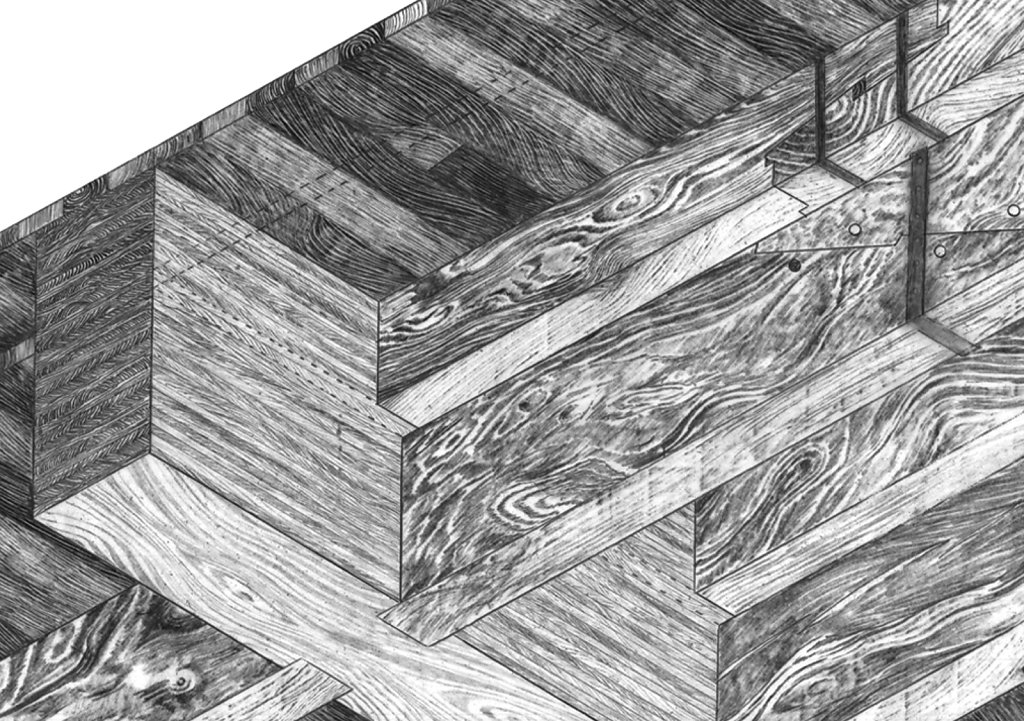 Timber jointing detail